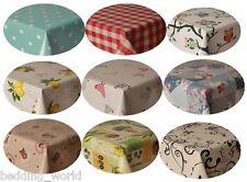 Pvc table nappe ovale toutes les occasions protecteurs vinyle plastique imprimé clair kids