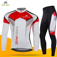 Men's Cycling Jerseys Bike Long Sleeve Jerseys Pants Set Kids Cycling Kits M-XXL