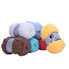 1x Colorful Soft Long Wool Yarn Bulky Knitting Wool Crocheting Gift DIY Tool BL