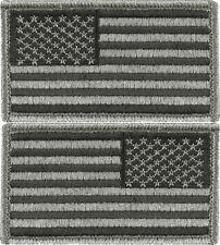 "Foliage Green USA Flag Military American Flag Hook Patch 1-7/8"" x 3-1/4"""