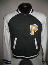 MLB Pittsburgh Pirates Baseball Full Zip Sweatshirt Jacket Womens Sizes Majestic