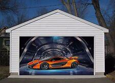 3D Sports car 11 Garage Door Murals Wall Print Decal Wall Deco AJ WALLPAPER AU