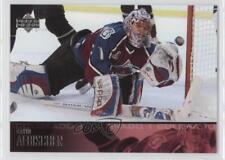 2003-04 Upper Deck #51 David Aebischer Colorado Avalanche Hockey Card