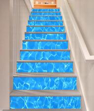 3D Blue Seawater 532 Risers Decoration Photo Mural Vinyl Decal Wallpaper CA