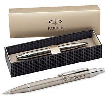 Parker IM Kugelschreiber inkl. Gravur mit Geschenkbox ( Farbe - Metall gold )