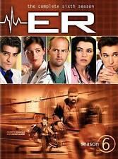 ER - The Complete Sixth Season (DVD, 2011, 6-Disc Set)