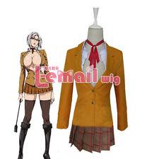 Prison School Kangoku Gakuen Shiraki Meiko School Uniform Cosplay Costume Skirt