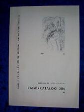 """""""Galleria Wolfgang Ketterer-catalogo di magazzino 28 a di 1963"""""""