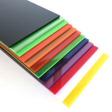 Color Plastic Sheet Panel Acrylic Plexiglass Plate 8x8cm-30x40cm