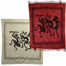 African Designs - Indian Cotton Bedspread XXL 82 11/16x94 1/2in Designs