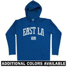 East LA Los Angeles Hoodie - CA California Hip-Hop Gangsta Rap 323 - Men S-3XL