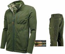 61e0043747893 Reversible Waterproof Jacket Trousers Hunting Fishing Walking