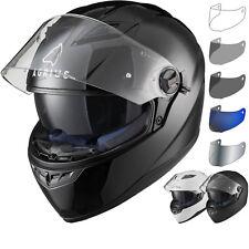 Agrius Rage SV Solid Motorcycle Helmet & Visor Sun Visor Full Face Motorbike