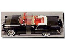 1955 Chevy Belair BLACK 1:18 Ertl American Muscle 29114