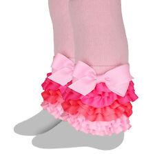 Celegrity - Girls Footless Tight, Leggings Interchangeable Ruffles Cotton Candy