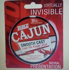 Cajun Line Smooth Cast Low Vis Red Filler Spool 330yd