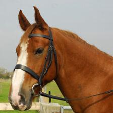 Or Perle /& Rose Cristal Diadème Noir Ou Marron XP Poney S//N Full cheval XF 19