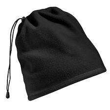 Beechfield SUPRA polaire écharpe tube CHAUFFE COU CHAPEAU COMBO hiver bonnet