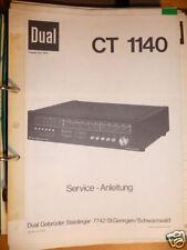 Service-Manual für Dual CT 1140  Tuner, ORIGINAL!!!