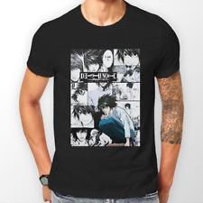 Death Note L MANGA STRISCIA Kira RYUK ANIME T-Shirt Unisex T-shirt Tee Tutte le Taglie