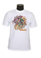 tee-shirt enfant lion personnalisable avec prénom réf 111