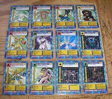 12 Digimon Movie Film Promo Karten Auswahl TCG Trading Cards Game Card MO
