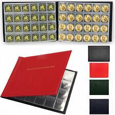 240 Coin Collection Album Money Storage Case Holder Coin Collecting Book UK