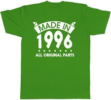 Realizzato nel 1996 tutte le parti originali COMPLEANNO Mens T-Shirt manica corta