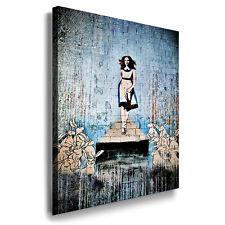 Leinwand Bilder XXL Wandbilder fertig aufgespannt 30,80,150cm Banksy art Alice