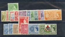 BERMUDA Sc  143-62(SG 135-50)*F-VF LH  SET OF TWENTY, BOTH MAP TYPES $225