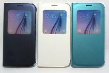 Genuine Original Samsung S-View Flip Cover Case for Samsung Galaxy S6, Retail