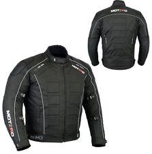 Men,s Motorcycle Motorbike Waterproof CE Armoured Cordura  Jacket Black S-5XL