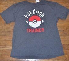 Pokemon Trainer Pokeball Poke Ball T-Shirt Officially Licensed Adult Tee