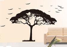 Bm09 murales wall sticker árbol ramas pájaro pared Pegatina 40 colores para Wah