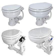 Bordtoilette manuell/elektrisch Seetoilette Toilette Bootstoilette WC Größenwahl