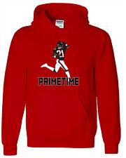 "Deion Sanders Atlanta Falcons ""Prime Time"" jersey shirt Hooded SWEATSHIRT"