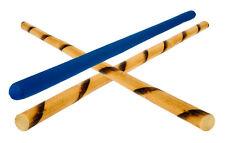 2 x Escrima Spiral Rattan Kali Sticks +1 Padded Stick Eskrima Kali Arnis FMA