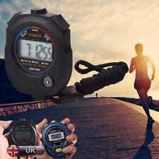 Portátil Digital LCD Cronómetro Cronógrafo Temporizador Contador Deportivo