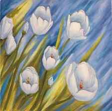 3D Blanc Fleurs 36 Photo Papier Peint en Autocollant Murale Plafond Chambre Art