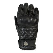 John Doe Tracker Leather Motorcycle Gloves - Black