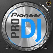 Pioneer Xdj R1 / Xdj-r1 Jog Dial Fieltro gráficos / Stickers-Cdj Djm