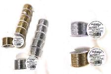 Woolly Hugs Glitzer Beilaufgarn 1000 m Wolly Garn Silber oder Gold 100m/0,35€