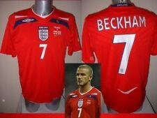 England David Beckham Shirt Jersey S M L XL XXL Man Utd 100 Cap Football Soccer