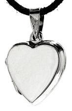 Nr 186: Herz Herzchen Liebe Freundschaft Medaillon 925 Sterling Silber Anhänger