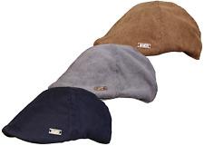 Da Uomo a forma di cavo FLAT CAP NUOVO Cappello BAKER BOY Qualità Cappello Da Strillone picchi Paese Cap