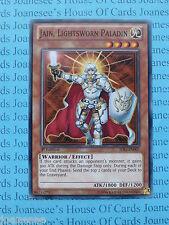 Jain, Lightsworn Paladin SDLI-EN007 Common Yu-Gi-Oh Card Mint 1st Edition New