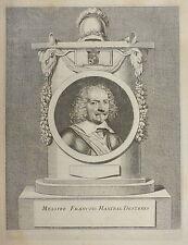 1649-FRANCOIS HANIBAL DESREES-RITRATTO-Valdor Triomphes de Louis-RARO-DECORATIVO