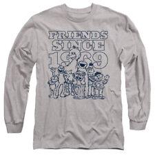 Sesame Street Friends Since Adult Long Sleeve T-Shirt