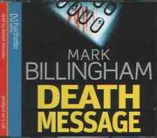 Death message.audio cd.mark Billingham