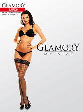 Glamory Mesh halterlose Strümpfe Netzstrümpfe, erhältlich bis Größe 62, 50352